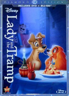Lady And The Tramp Bluray + Dvd  Diamond Edition