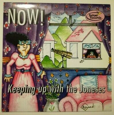 """Now!**Keeping Up With The Joneses**Uk 7"""" Single**Mod Detour Label**Mint"""
