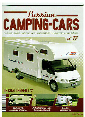 Hachette Magazin Camping Cars  - Challenger 172 Ford -  Nr. 17