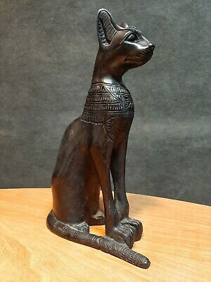 Rare ANCIENT EGYPTIAN ANTIQUES BASTET Goddess Pharaoh Ubasti Cat EGYPT Stone BC