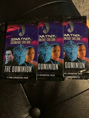 3-Star Trek Customizable Card Game The Dominion