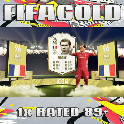 FIFA 20 Ultimate Team 🔥 1x Random Rated Player 89+ 🔥 Coin Value 🔥 PS4