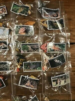 Yowie Spares Series 1-4 60 Figurines some RARE, All Brand New, Papers, Bagged