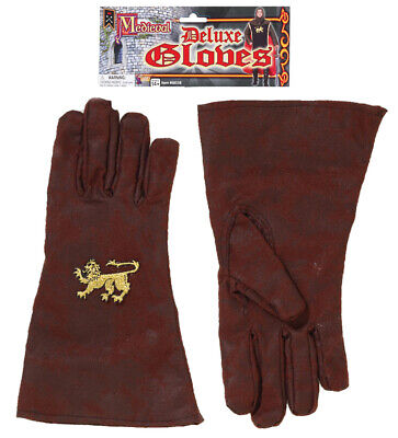 Medieval Warrior Gladiator Fantasy Adult Warrior Gloves