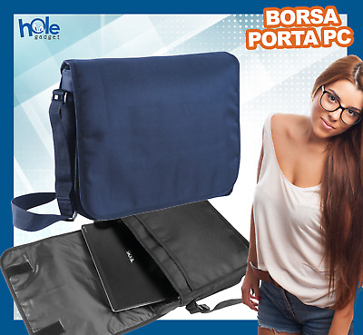 Borsa per pc portatile porta computer documenti custodia laptop notebook 14 15.6