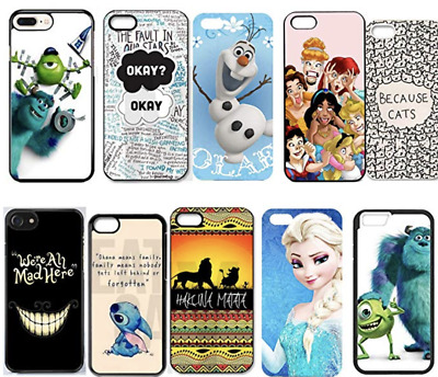 Wholesale joblot x1000 Ohana Elsa Lion King Cute Custom Case iPhone & Samsung