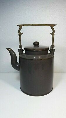 Superb Antique Chinese Yixing Zisha Pottery Teapot With Chinese Marked