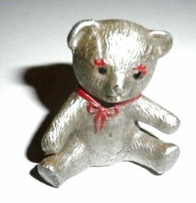 Vintage Pewter CAT Designs Figurine Fine Pewter Collectibles Teddy Bear