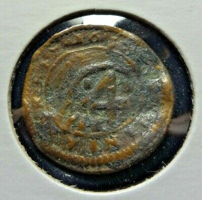 Spanish Pirate Coin 4 Marauedis  1600's