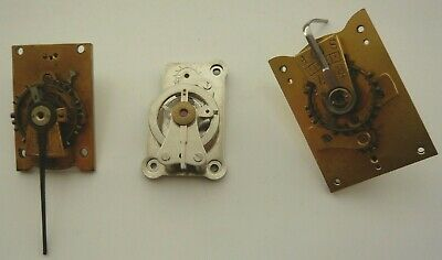 3 LEVER BALANCE PLATFORM ESCAPEMENTS FOR  CARRIAGE MANTEL CLOCKS (spares/repair)