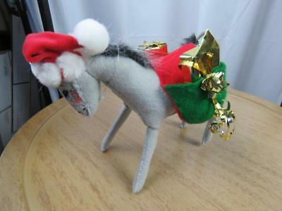"""MULE ANNALEE 8/"""" CHRISTMAS DONKEY NEW 980703 Mint SUE COFFEE EXCLUSIVE"""