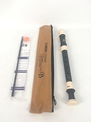 * Yamaha * YRS-302BIII 3 Piece Soprano/Descant Recorder & Bag NEW!