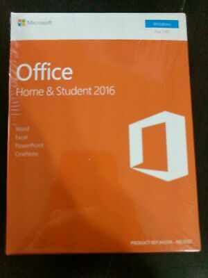 Microsoft Office Home and Student 2016 for Windows PC KEY & DOWNLOAD LINK SEALED