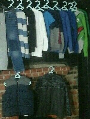 Boys Clothes Bundle Age 6-7 Years Coat Hoodies Joggers & more H&M Nike & more
