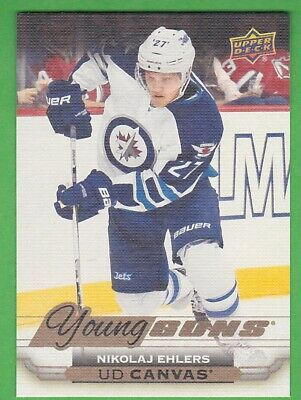 2015-16 Upper Deck Young Guns Canvas #C116 Nikolaj Ehlers