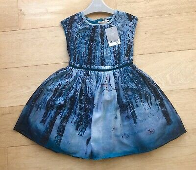 NEW tag NEXT *3y GIRLS BEAUTIFUL Woodland Deer PARTY Xmas DRESS AGE 3 YEARS