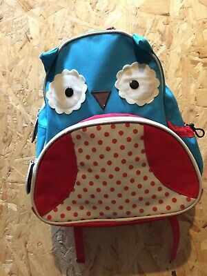 Skip Hop Zoo Toddler / Child Backpack / Rucksack Daysack Bag  - Owl, VGC