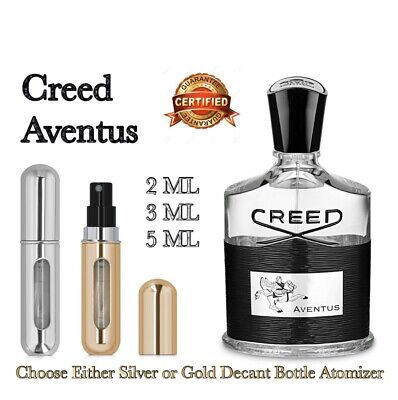 Creed Aventus for Men EDP Perfume Cologne: 🥇Silver / Gold Decants 2ML - 10ML🥇