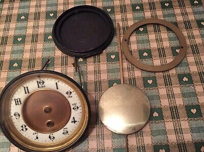Antique  clock Face And Parts