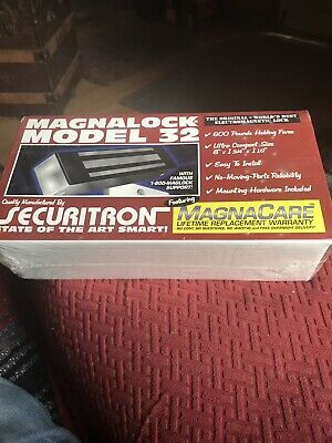 Magnalock Model 32 600 Lb Holding Force New In Box-USA