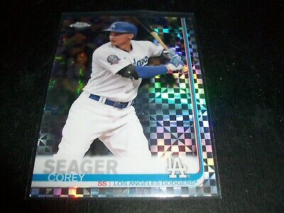 2019 Topps Chrome Prism Refractor Corey Seager