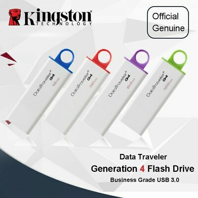 New Kingston 64/128GB USB 3.0 Flash Stick Pen DataTraveler G4 Memory Drive