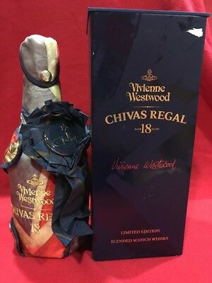 Whisky Chivas 18 years rare edition  Vivienne Westwood Limited Edition