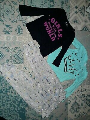 3-4 Years Girls Bundle Tops And Trousers