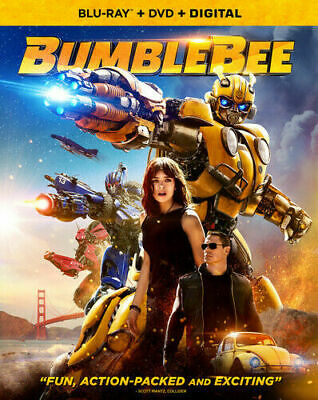 BumbleBee  Blu-ray + DVD + Digital HD 2019 John Cena Hailee Steinfeld Transform