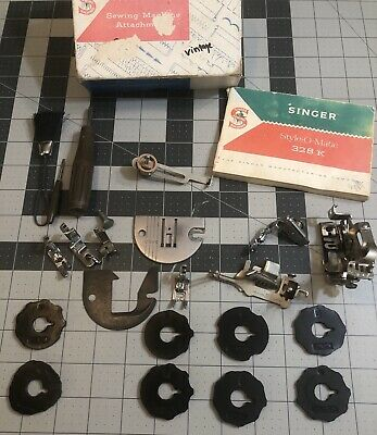 Vintage Singer Sewing Machine Attachments Style-O-Matic 328 K