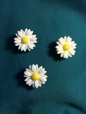 POPULAR Daisy TRIO Flower Power Holey Clog Shoe Charm