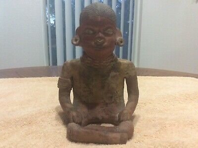 Ancient Pre Columbian Effigy - Male Figure