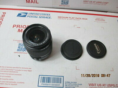 r44) Canon Zoom Lens EF-S 18-55mm 1:3.5-5.6 IS Image Stabilization Free Returns!