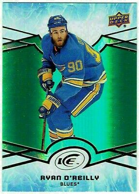 RYAN O'REILLY 2018-19 Upper Deck Ice Green Parallel #14 St. Louis Blues UD
