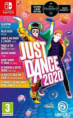 NEW Just Dance 2020 Nintendo Switch Gather Your Friends And Family And J UK FAS