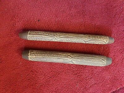 Aboriginal Clapping Sticks - Beautifully Carved