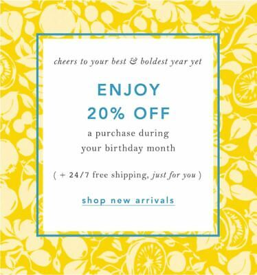 ***20% Off*** ANTHROPOLOGIE Entire Purchase Coupon Code Ex 12/31 Online/In Store