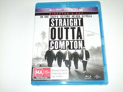Straight Outta Compton - Blu Ray **Free Postage**