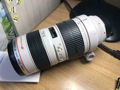Canon EF 70-200mm f/2.8 L USM Camera Lens Serviced Tested Working Used