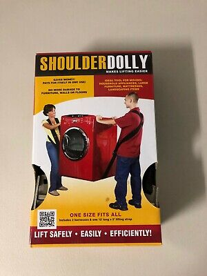 Shoulder Dolly Moving Lifting Straps Heavy Lift Strap Furniture Appliances TV