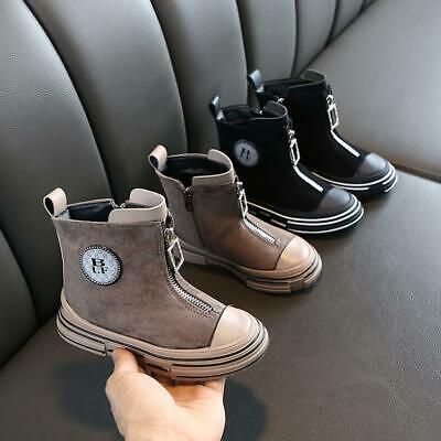 Kids Boys Girls Ankle Boots Children Toddlers Autumn/Winter Warm Martin Shoes