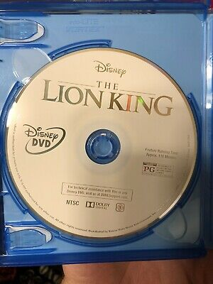 The Lion King (DVD, 2019) Live Action Movie DISC ONLY New Free Shipping!