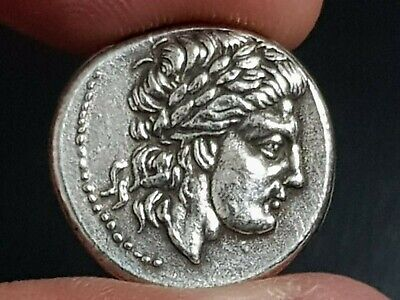 Ancient Greek SILVER COIN DRACHM ARGOLIS FOURREE 4,0 GR 17MM