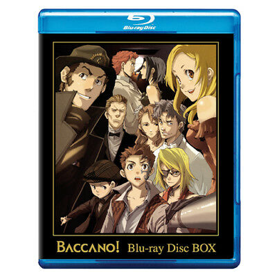 Baccano! Complete Collection (1-16) Bluray Disc Box ENGLISH DUB Region A US