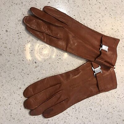 Vintage, Retro, 1950s Women's Leather Gloves