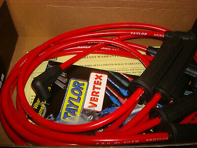 Taylor Cable 74227 Spiro-Pro Red Spark Plug Wire Set