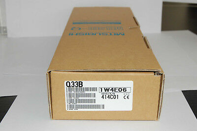 1PC Mitsubishi Q33B PLC New In Box Expedited Shipping
