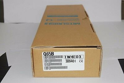 1PC Mitsubishi Q65B PLC New In Box Expedited Shipping