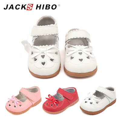 Girls Bows Design Mary Jane Soft Breathable Princess Dress Flat Leather Shoes