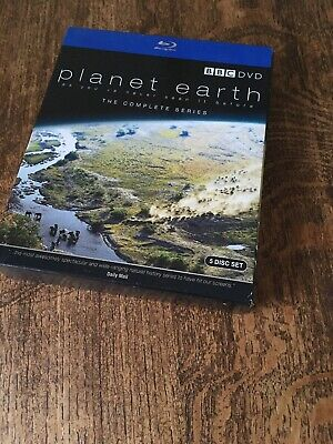 David Attenborough Blue Ray Planet Earth Complete Series 5 Disc
